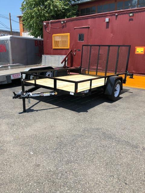 2020 Car Mate Trailers open 6 x10 Enclosed Cargo Trailer