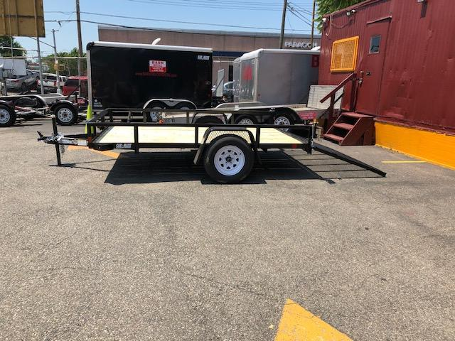 2020 Car Mate Trailers open 6 x10 Enclosed Cargo Trailer ...