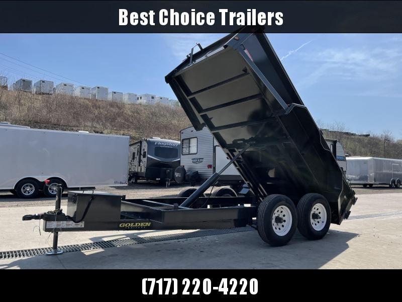 "2021 Corn Pro 6x12' Low Profile Dump Trailer 9990# GVW * UNDERMOUNT RAMPS * GREY * RUNNING BOARDS * DROP AXLES * URETHANE PAINT * OVERSIZE PISTON * 10 GAUGE FLOOR (1 PIECE) * 6"" CHANNEL FRAME"