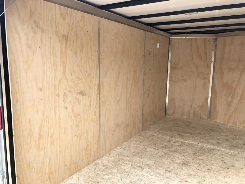 2021 Sure-Trac 6x10 STW Enclosed Cargo Trailer Ramp Door * TORSION * WHITE * STW7210SA