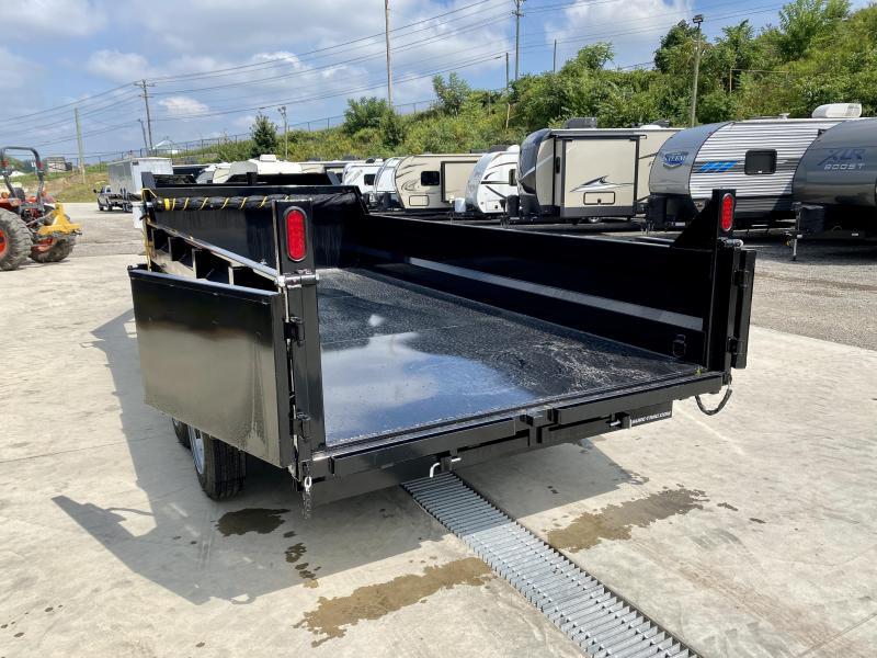 2022 Sure-Trac 7x16' 16000# Low Profile HD GOOSENECK Dump Trailer * TELESCOPIC HOIST * 8000# AXLE UPGRADE * TARP KIT