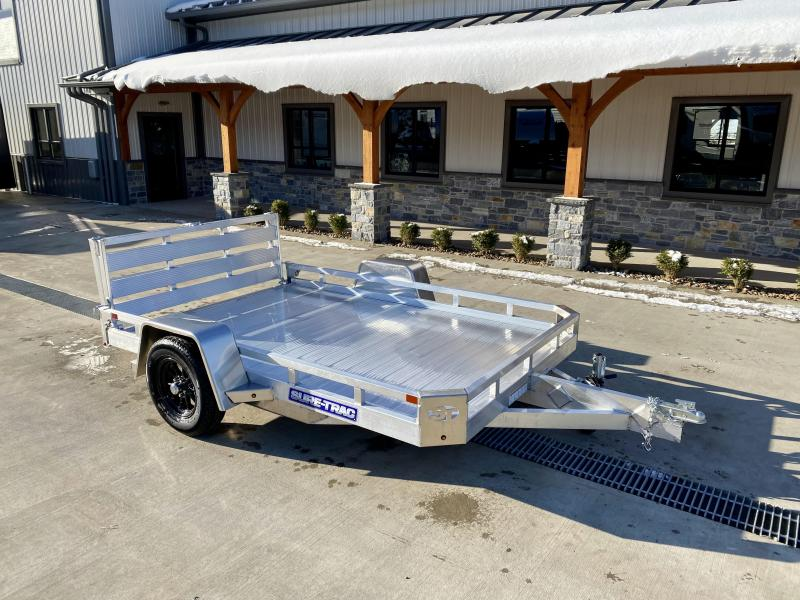 2021 Sure-Trac 7x10' All Aluminum Utility Landscape Trailer 2990# GVW * TORSION * EXTRUDED FLOOR * EXTENDED 4.5' BI FOLD GATE * LOW LOAD ANGLE! * SUPER LIGHTWEIGHT