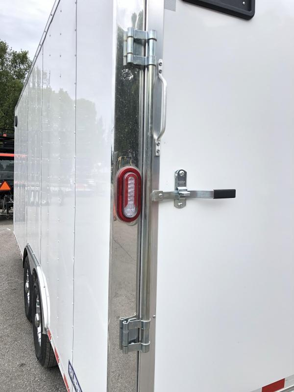 "2021 Sure-Trac 8.5x18' Enclosed Contractor Pro 14000# GVW * COMMERCIAL ENCLOSED TRAILER * 7' HEIGHT UPGRADE UTV * 7000# AXLE UPGRADE * HD RAMP DOOR (7000# RATED) * INTEGRATED KNIFE EDGE * TORSION * 16"" RUBBER * BACKUP LIGHTS"