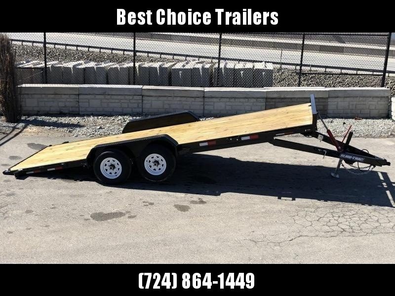 "2020 Sure Trac 7x20' Tilt Car Trailer 9900# GVW * DIAMOND PLATE FENDERS * 5"" TUBE TONGE/FRAME * SEALED WIRING HARNESS * 7K SET BACK JACK * STAKE POCKETS/D-RINGS/RUBRAIL * REMOVABLE FENDER * UNDER FRAME BRIDGE"
