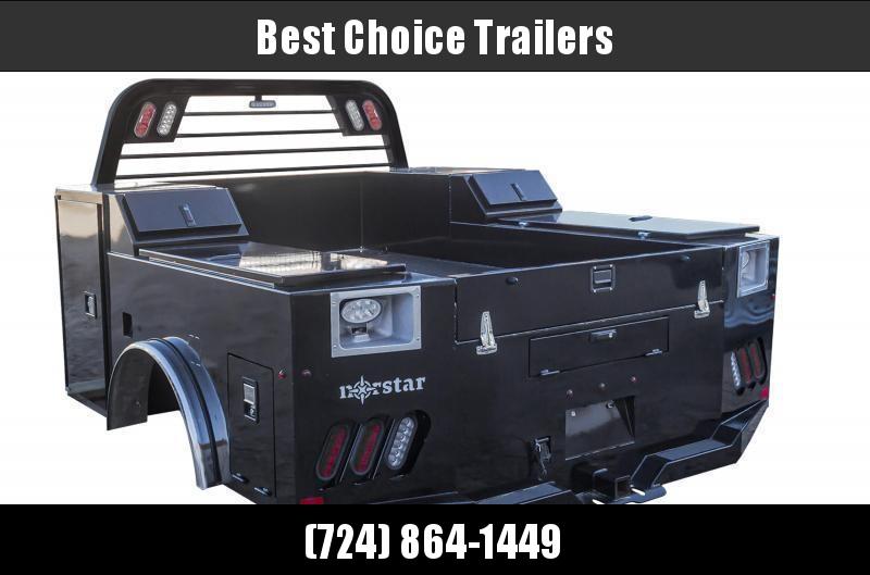 "2022 Norstar SD Service Body Truck Bed 9'4""x90""x60""CTA * SD094906034I39P02BK"