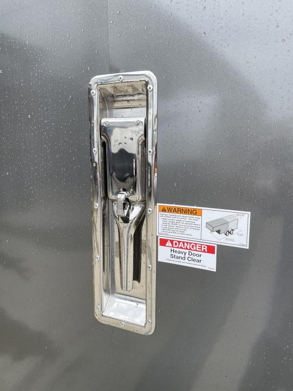"2021 Neo 7x22' NASR Aluminum Round Top Enclosed All-Sport Trailer 7000# GVW * 7' HEIGHT UTV PKG * 2-TONE EXTERIOR W/ JD SLASH * FRONT/REAR NXP RAMP * VINYL WALLS * SPORT TIE DOWN SYSTEM * 16"" O.C. FLOOR * PRO STAB JACKS * UPPER CABINET * ALUMINUM WHEELS *"