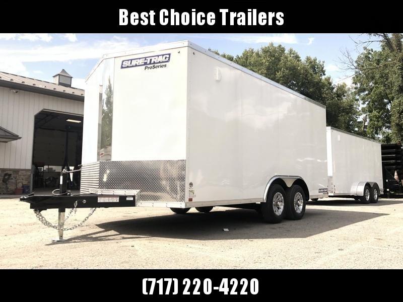 2021 Sure-Trac 8.5x16' Enclosed Cargo Trailer 9900# GVW * TORSION * CHARCOAL * CONTRACTOR/LANDSCAPER TRAILER