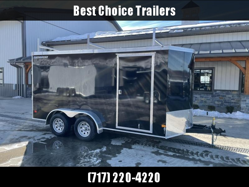 """2021 Wells Cargo 7x16' Road Force Enclosed Contractor Trailer 7000# GVW * CHARCOAL * CONTRACTOR PACKAGE * 3 LADDER RACKS * 3/4"""" WALLS * SCREWLESS .030 EXTERIOR * 1 PC ALUM ROOF * 6'6"""" HEIGHT * TUBE STUDS * RV DOOR * ARMOR GUARD * EXTENDED TRIPLE TUBE TONG"""