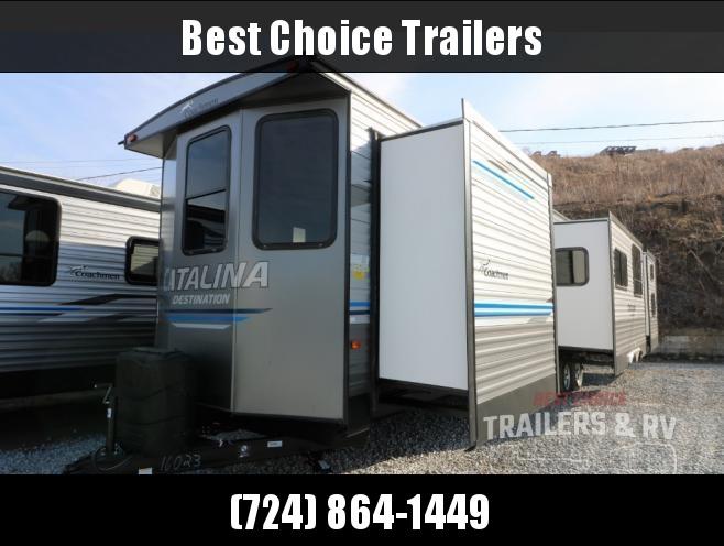 2019 Coachmen Catalina 40BHTS Destination Trailer RV