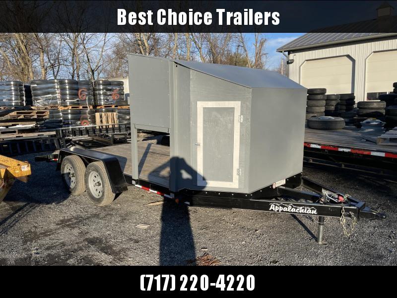 USED 2021 Appalachian 7x16' Car Trailer 7000 GVW