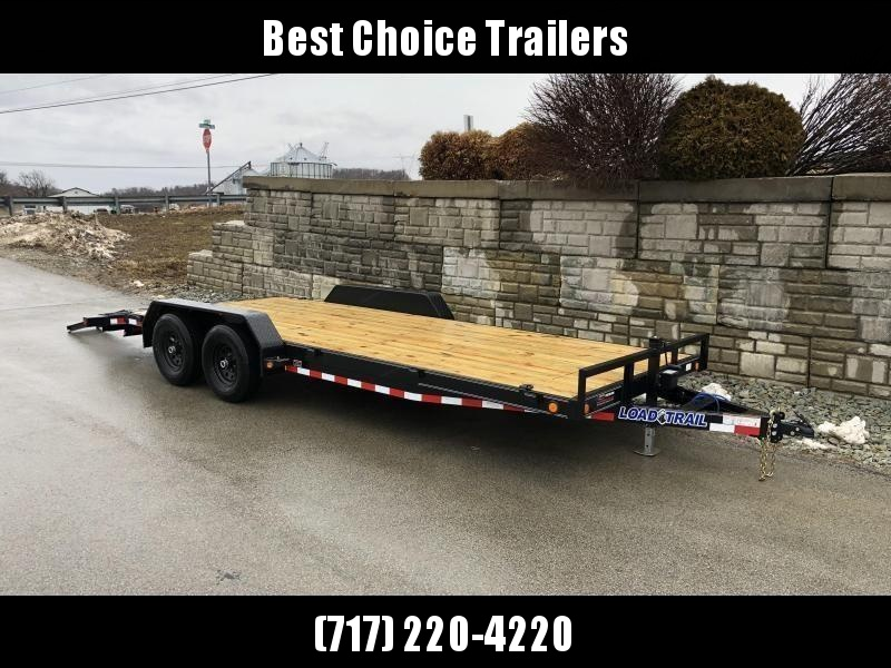 2021 Load Trail 7x24' Car Hauler Trailer 9990# GVW * 6@ FRAME * TOOLBOX * WINCH PLATE * 3' DOVE * 12K JACK * REAR JACKSTANDS * DEXTERS * POWDER PRIMER * REMOVABLE FENDERS
