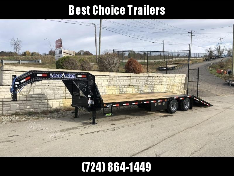 2020 Load Trail 102x32' Gooseneck Hydraulic Dovetail Deckover Trailer 22000# GVW * DEXTER AXLES * HYDRAULIC DOVETAIL * HDSS SUSPENSION * FRONT AND SIDE TOOLBOXES * PIERCED FRAME * ZINC PRIMER * CHARCOAL