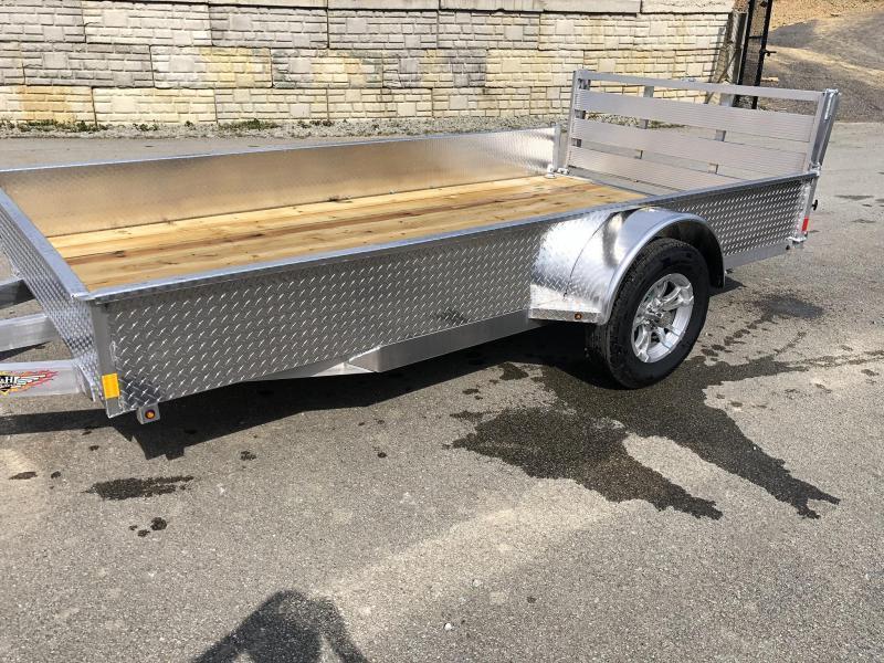 2021 H&H 5x10' 2990 aluminum utility trailer 6010ssa-030