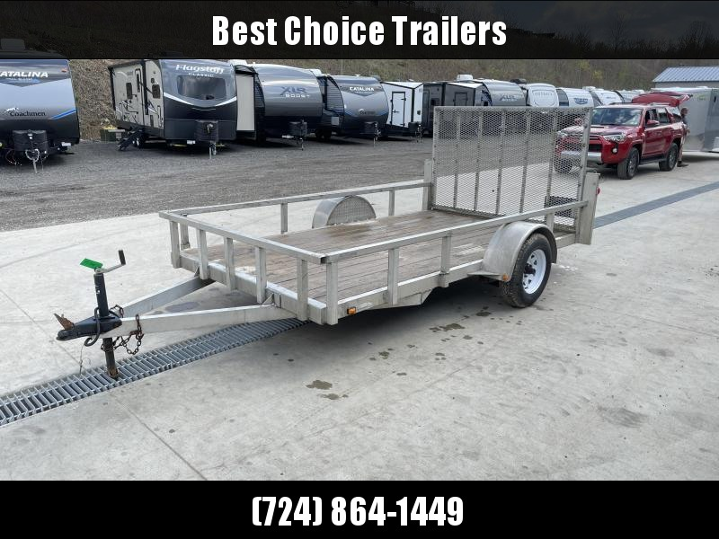 USED 2005 Continental Cargo 6.5x12' Aluminum Utility Landscape Trailer 2990# GVW