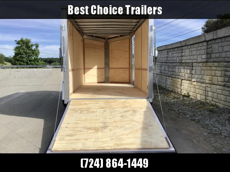 2021 Neo 6x12 NAVF Aluminum Enclosed Cargo Trailer * RAMP DOOR * CHARCOAL * ALUMINUM WHEELS