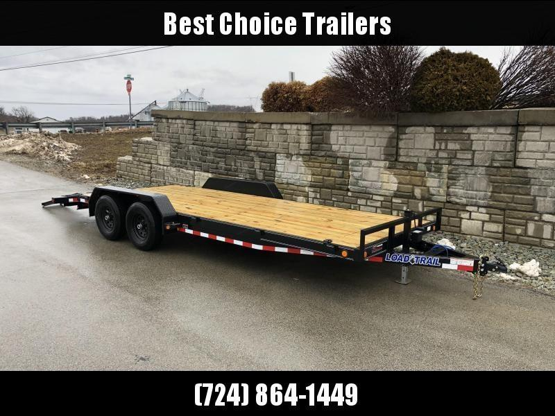 2021 Load Trail 7x20' Car Hauler Trailer 9990# GVW * CH8320052 * DEXTERS * POWDER PRIMER * REMOVABLE FENDERS * 2-3-2 WARRANTY