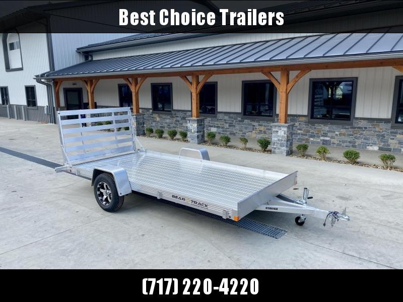 2022 Bear Track 7x14' Aluminum Utility Landscape Trailer * EXTRUDED ALUMINUM FLOOR * TORSION SUSPENSION * ALUMINUM WHEELS * HD GATE * CLEARANCE