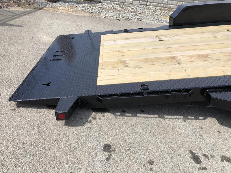 2022 Ironbull 7x16+2 Gravity Tilt Equipment Trailer 9990# GVW * DEXTER TORSION AXLES * STOP VALVE * REMOVEABLE FENDERS * LOTS OF TIE DOWNS