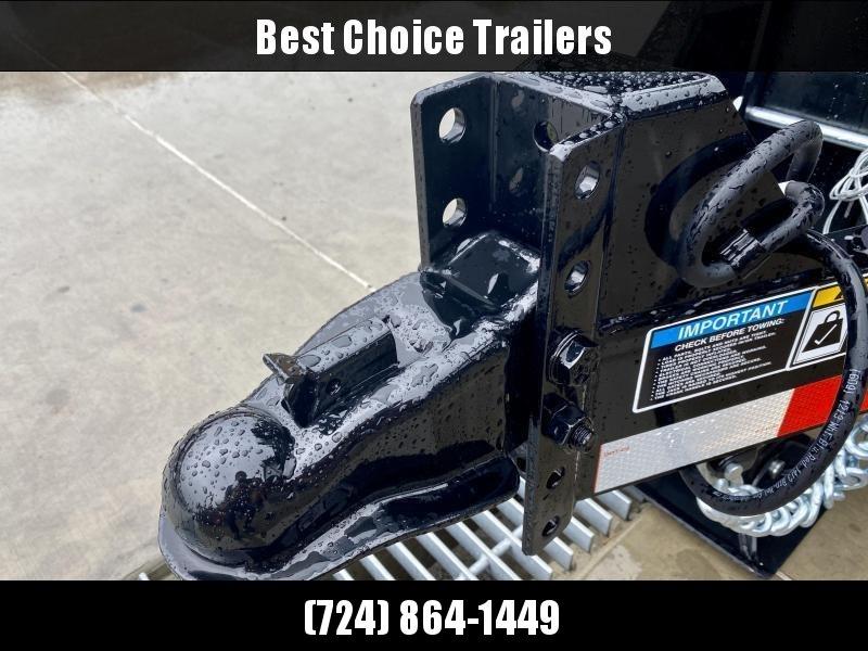2021 H&H 7x12' 14000# gvw dump trailer h8312dbw-b-140