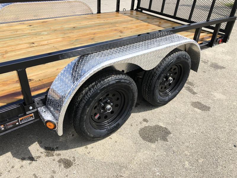 2021 Load Trail 7x14' 7000# gvw commercial utility trailer xt8314032