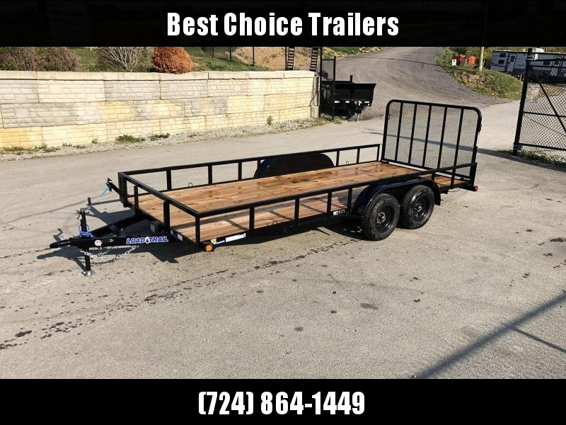 "2020 Load Trail 7x16' Utility Landscape Trailer 7000# GVW * NEON GREEN * SPARE MOUNT * TUBE TOP * 4"" CHANNEL FULL WRAP TONGUE * TUBE BUMPER * ALL LED'S * TIE DOWNS * TUBE GATE C/M * CAST COUPLER * COLD WEATHER HARNESS * DEXTER'S * 2-3-2 WARRANTY"