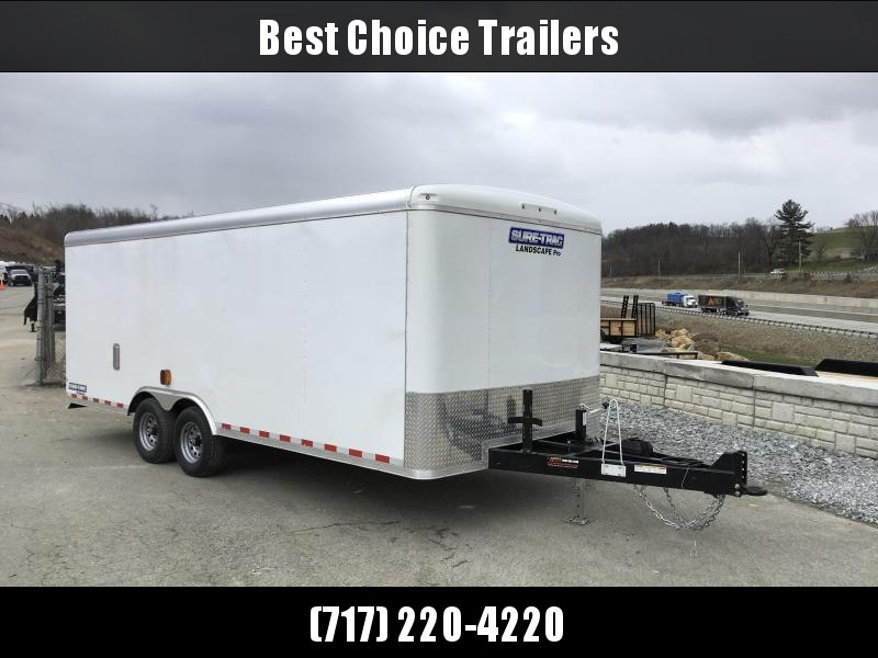 Sure-Trac STRLP 8.5x20 Landscape Pro Enclosed Cargo Trailer BRICKMAN SPEC ULTIMATE LANDSCAPE TRAILER