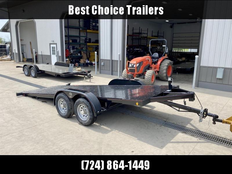 2021 Kwik Load 7x20' Texas Rollback Car Trailer 9990# GVW * WINCH PLATE * STEEL DECK * TORSION * LOW LOAD ANGLE