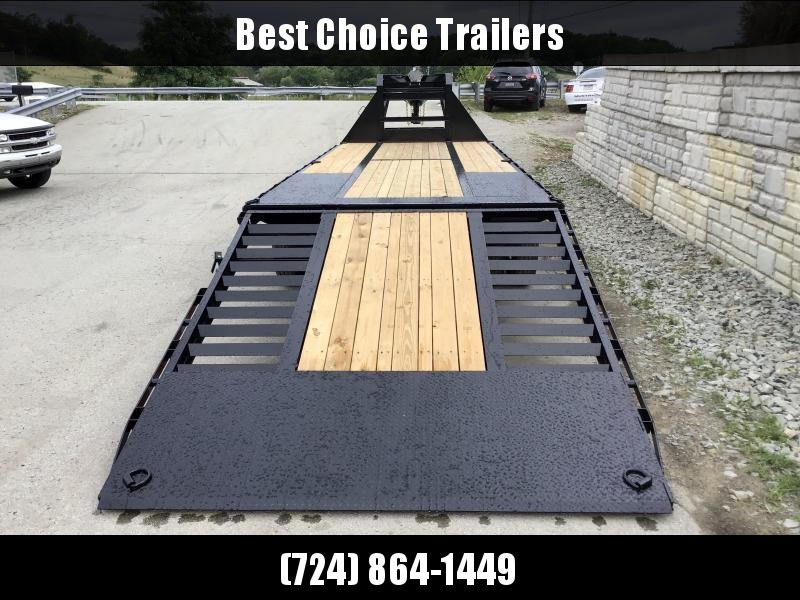 "2020 Sure-Trac 102x22+10' Gooseneck Hydraulic Dovetail Deckover Trailer 22500# GVW * 10' CLEATED DOVETAIL * DUAL 5"" LIFT CYLINDERS * PIERCED FRAME * CROSS TRAC BRACING * RUBRAIL/STAKE POCKETS/PIPE SPOOLS/10 D-RINGS * LOW LOAD ANGLE!"