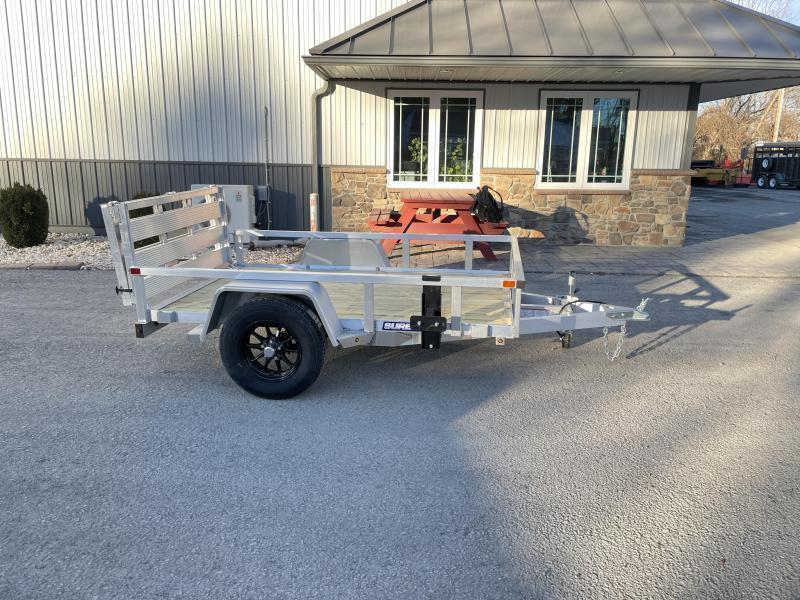 2021 Sure-Trac 5x8' 2990# gvw aluminum trailer st6208ta-a-030