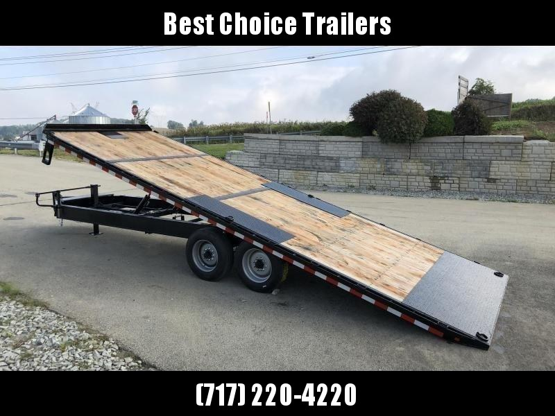 """2020 Sure-Trac 102x24' Power Tilt Deckover 17600# GVW * 8000# AXLES * 17.5"""" 16-PLY TIRES * WINCH PLATE * OAK DECK UPGRADE * 3 3/8"""" BRAKES * 4X4X1/4"""" TUBE BED RUNNERS * DUAL PISTON * 10"""" I-BEAM * RUBRAIL/STAKE POCKETS/PIPE SPOOLS/8 D-RINGS * LOW LOAD ANGLE"""