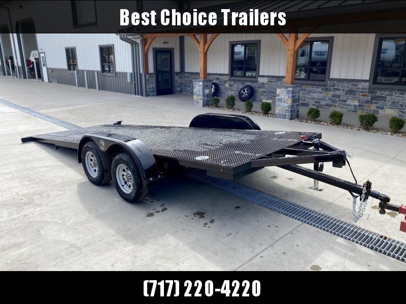 2022 Kwik Load 7x18' Texas Rollback Car Trailer 7000# GVW * LOW LOAD ANGLE * STEEL FLOOR * TORSION * IN DECK TOOLBOXES * IN DECK LIGHTS * SWIVEL D-RINGS * REMOVABLE FENDERS * FULL WIDTH LOADING