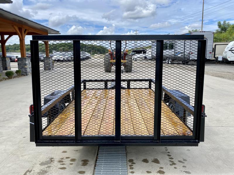 """2021 AMO 5x8' Angle Iron Utility Landscape Trailer 2200# GVW * GATE * A-FRAME TONGUE * A-FRAME JACK * 2"""" BALL"""