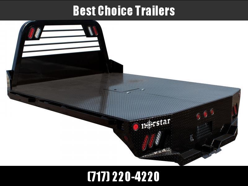 """2021 Norstar SR Flatbed Truck Bed 84""""x84""""x40""""CTA * SR084844000I37BK * CLEARANCE"""