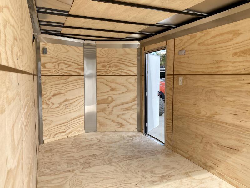 "2021 ITI Cargo 7x14' Enclosed Cargo Trailer 7000# GVW * BLACK EXTERIOR * .030 SEMI-SCREWLESS * 1 PC ROOF * 6'6"" INTERIOR * 3/8"" WALLS * 3/4"" FLOOR * PLYWOOD * 24"" STONEGUARD * HIGH GLOSS PAINTED FRAME * RV DOOR"