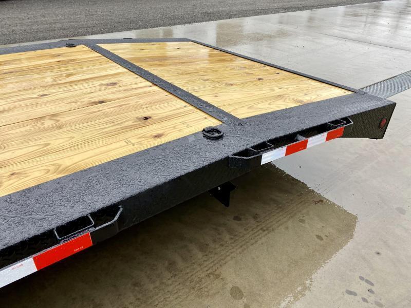 "2022 Ironbull 102x40' Gooseneck Car Hauler Trailer 21000# GVW * DEXTER AXLES * 4' DOVETAIL * OVERWIDTH RAMPS * 102"" DECK * DRIVE OVER FENDERS * DUAL JACKS * FULL TOOLBOX * RUBRAIL/STAKE POCKETS/PIPE SPOOLS/D-RINGS * UNDER FRAME BRIDGE"