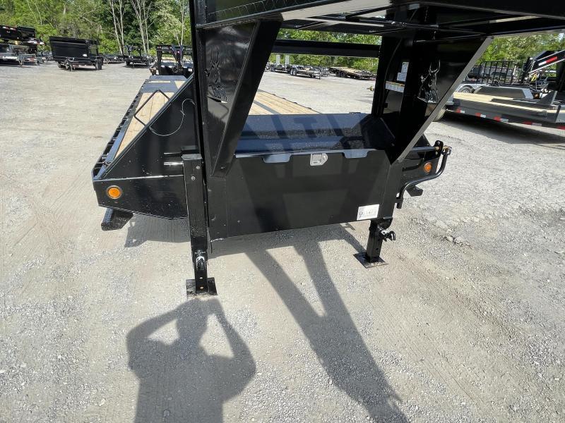 2022 Ironbull 102x36' Gooseneck Beavertail Deckover Trailer 22000# GVW * DEXTER 10K AXLES * HDSS SUSPENSION * FULL WIDTH RAMPS * PIERCED FRAME * SPARE TIRE * UNDER FRAME BRIDGE * RUBRAIL/STAKE POCKETS/PIPE SPOOLS/D-RINGS * DUAL JACKS
