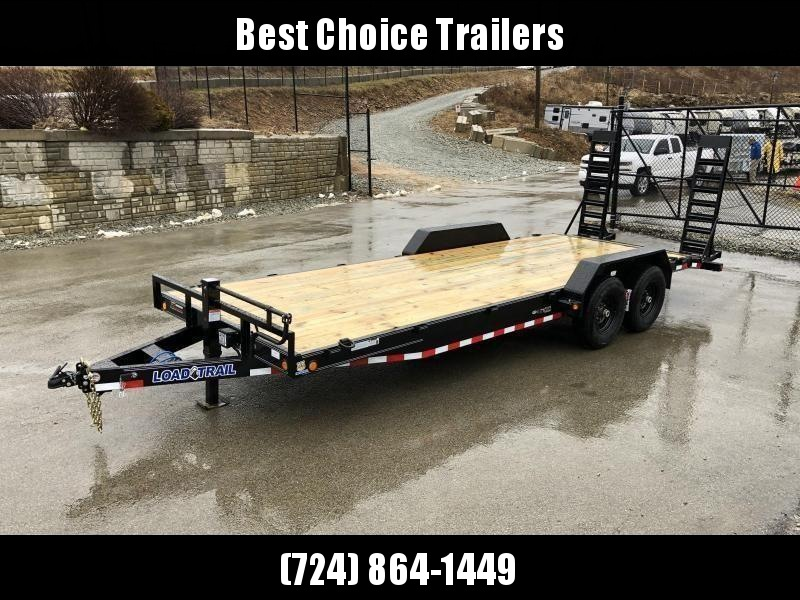 2021 Load Trail 7x18 Equipment Trailer 14000# GVW * XH8318072-EQ * STAND UP RAMPS * D-RINGS * COLD WEATHER * DEXTERS * 2-3-2 * POWDER PRIMER * CLEARANCE