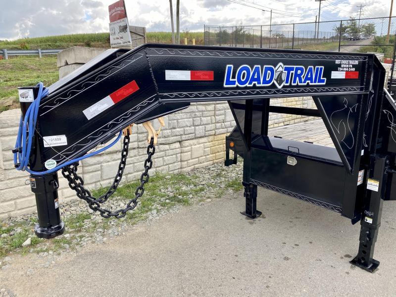 2020 Load Trail 102x34' Gooseneck Flatbed Deckover Trailer 24000# GVW * 12K DEXTER AXLES * EOH DISC BRAKES * HDSS SUSPENSION * 2-25K DUAL JACKS * RUBRAIL/STAKE POCKETS/PIPE SPOOL * OIL BATH HUBS * SPARE TIRE * PRIMER * 2-3-2 WARRANTY