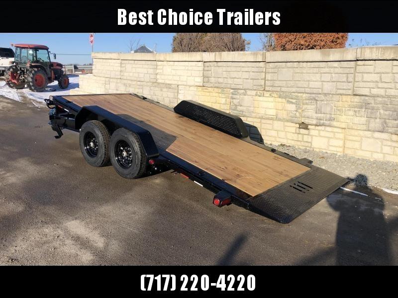 "2021 Load Trail 7x24' Gravity Tilt Equipment Trailer 14000# GVW * 8"" I-BEAM MONOFRAME * DEXTER TORSION AXLES * 2-3-2 WARRANTY * POWDER PRIMER * 12K JACK * ADJ CAST COUPLER"