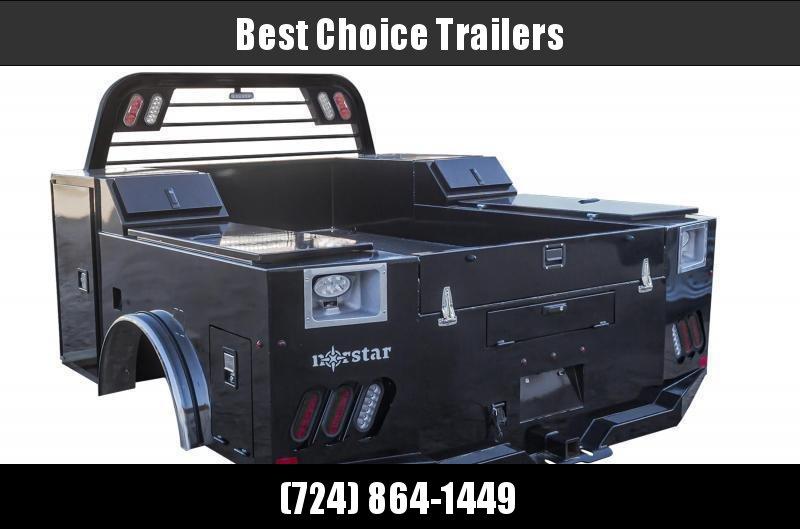 "2022 Norstar SD Service Body Truck Bed 9'4""x90""x60""CTA * SD094906034I39BK"