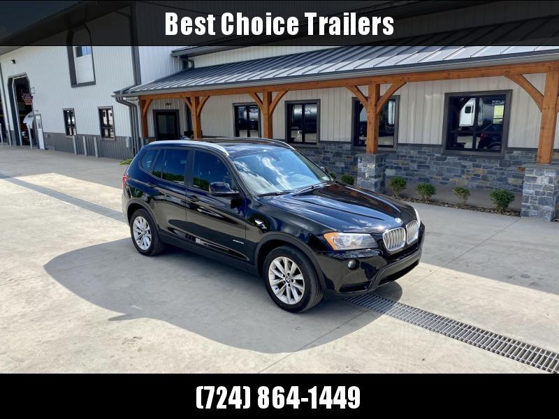 USED 2014 BMW X3 xDrive28i Sport Utility 4D SUV * BLACK * 2.0L TURBO * AWD * PANORAMA SUNROOF * LEATHER * ALUMINUM WHEELS