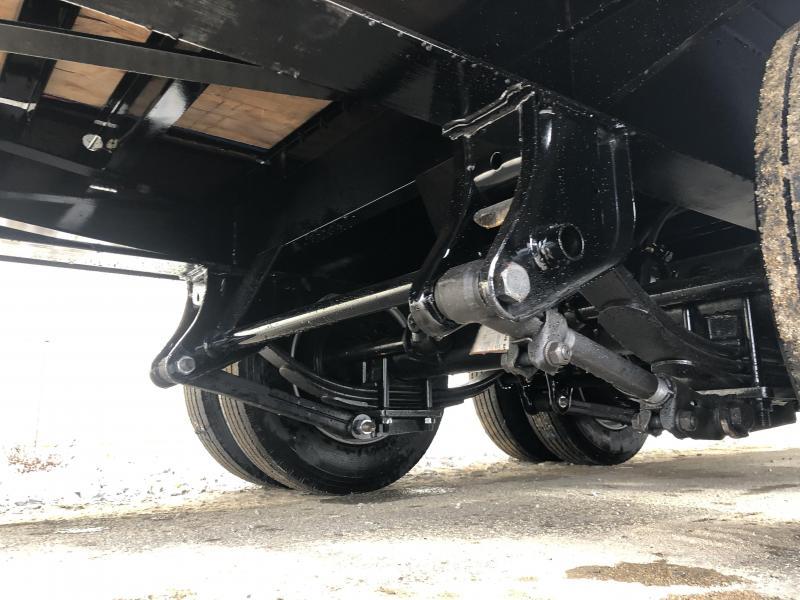 "2020 Sure Trac 102x25' Air Brake Beavertail Deckover Trailer 49000# GVW * PIERCED FRAME * 14"" I-BEAM FRAME * 215/17.5 LRH 16-PLY * 2"" OAK DECK * HUTCH 9700 SUSPENSION * DUAL 50K 2-SPEED JOST JACKS * LOCKABLE TOOLBOX * BI-DIRECTIONAL RAMPS * (12) 1"" D-RING"