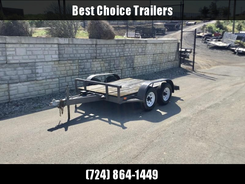 USED 2013 Constar 78x10' 10000# GVW Equipment Trailer