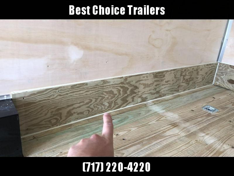 "2021 Sure-Trac 8.5x18' Landscape Pro Enclosed Trailer 9900# GVW * WHITE EXTERIOR * 2X6"" PLANK FLOOR * EXTENDED TONGUE * 5200# TORSION * INTEGRATED KNIFE EDGE * STEEL WORKBENCH * EXTENDED TONGUE * ADJUSTABLE COUPLER * DROP LEG JACK * HD GUSSETS/REINFORCEME"