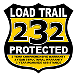 2020 Load Trail 7x20 Equipment Trailer 14000# GVW * XH8320072-EQ * STAND UP RAMPS * D-RINGS * COLD WEATHER * DEXTERS * 2-3-2 * POWDER PRIMER