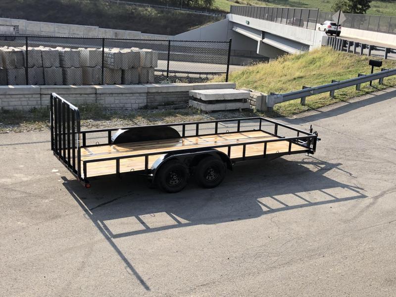 2021 Load Trail 7x16' 7000# gvw utility landscape trailer ue8316032