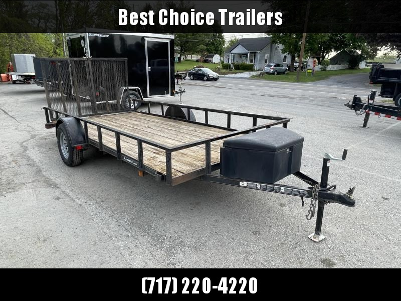 2010 Carry-On Trade In Utility Trailer