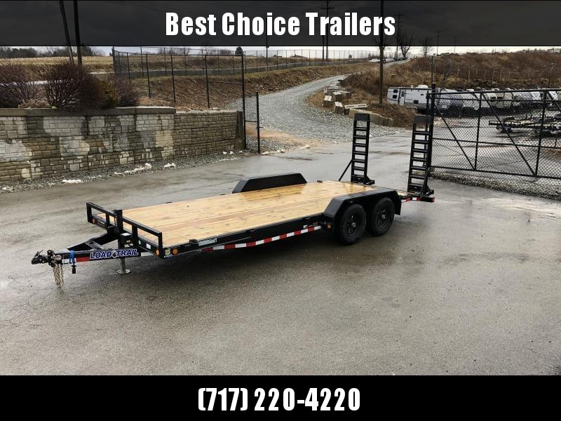 2020 Load Trail 7x18' Equipment Trailer 9990# GVW * XH8318052-EQ * STAND UP RAMPS * D-RINGS * DEXTER'S * 2-3-2 * POWDER PRIMER