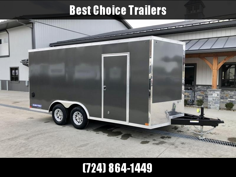 2021 Sure-Trac 8.5x16' Enclosed Cargo Trailer 9900# GVW * BLACK * TORSION * 5200# AXLES * CONTRACTOR/LANDSCAPER TRAILER