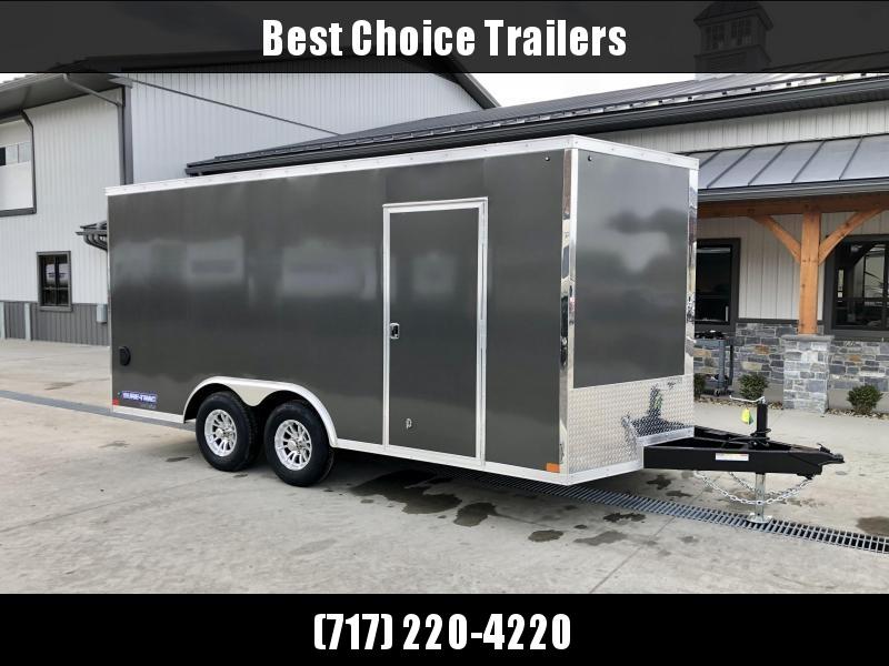 2021 Sure-Trac 8.5x16' Enclosed Cargo Trailer 9900# GVW * BLACK * TORSION * 5200# AXLES * CONTRACTOR/LANDSCAPER TRAILER